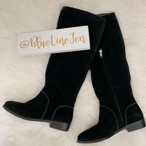 Gracen Suede Tall Boots NWOT
